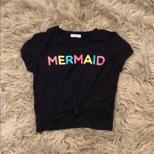 Tops - *Women's Mermaid Crop Top*
